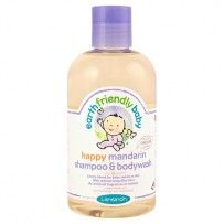 Earth Friendly Baby - Shampoing Gel Douche Bébé Bio à la Mandarine 250ml -  couchespascher