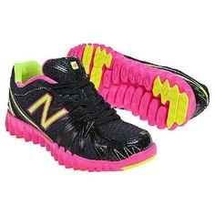 NIB Girls New Balance Gruve K2750BPY  Hot Pink/Black Running Sneakers Shoes NEW #NewBalance #Athletic