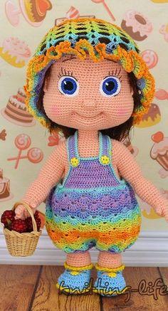 Handicraft and Cute Amigurumi Doll Pattern Ideas Part amigurumi doll patterns; Doll Amigurumi Free Pattern, Doll Patterns Free, Crochet Doll Pattern, Amigurumi Doll, Crochet Dolls, Crochet Patterns, Pattern Ideas, Crochet Teddy, Crochet Baby
