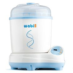 New Plus #Wabi #Baby Sterilizer is the top of the line sterilizer you can find. A 4-in-1 sterilizer that combines steam sterilization, hot air drying, storage fun...
