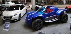 Peugeot Touareg, 208 HYbrid fe - Exposition 30 ans de concept-cars