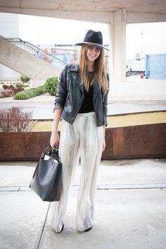 those pants + moto + hat. werk. Madrid.