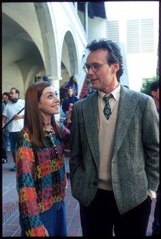 Willow Rosenberg [Alyson Hannigan] & Rupert Giles [Anthony Steward Head]