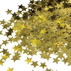 Check Out Gold Star Confetti