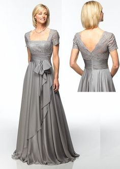 Jean De Lys 29264 Dress - mother of bride/groom (available in antique rose and tan, either would work but I'd want to see the color first!)
