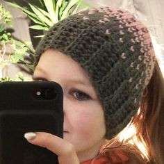 Two weeks ago I learnt a new stitch called the crochet knit stitch. I immediately wanted to make a crochet heart hat with this stitch. The result and pattern can be found on my blog wilmade.com for free.
