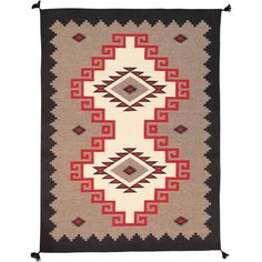 Here is an intriguing and decidedly modern Navajo style carpet - a Navajo style that was hand-woven of top quality wool in Afghanistan. Estilo Navajo, Navajo Style, Navajo Rugs, Wool Runners, Cool Rugs, Wool Area Rugs, Rugs Online, Colorful Rugs, Rug Runner