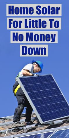 The Residential Renewable Energy Tax Credit is a little-known government program that helps put solar on your home before the credit expires on December 31, 2016. With this tax credit, homeowners are reducing their utility payments by hundreds of dollars per year!