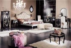 old hollywood glam bedroom - Google Search