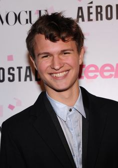 Ansel Elgort--gorgeous obviously