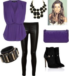 """""""Night out."""" by megmlee on Polyvore"""