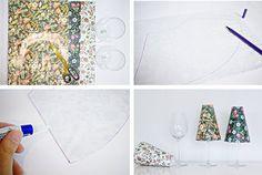 HOLIDAY DIY | Wineglass Shade