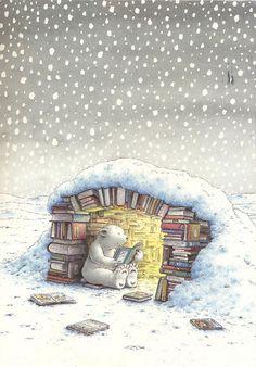 I would so do this if I were a bear - Hans de Beer - Little Polar Bear