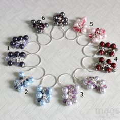 Cascade Swarovski Crystal Beads & Pearls by magsbeadscreation, $20.00