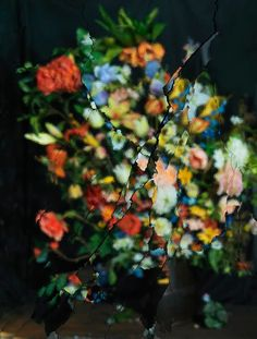 """On Reflection, Material E22 (After J.Brueghel the Elder)_ """"EXPLODING MIRRORS: THE PHOTOGRAPHY OF ORI GERSHT"""""""