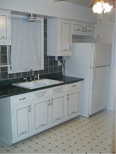 Nice subtle stencils on the cabinets Decor, Sweet Home, Cabinet, Kitchen, Home Decor, Kitchen Makeover, Kitchen Cabinets
