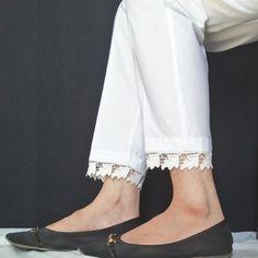 Buy Online Ladies Trousers Shopping In Pakistan Salwar Pants, Kurta With Pants, Stylish Dresses For Girls, Stylish Dress Designs, Salwar Designs, Blouse Designs, Kurtha Designs, Trousers Women, Trouser Pants