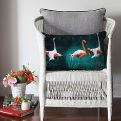 Flamingo Frolic Cushion from Cumulus Living.