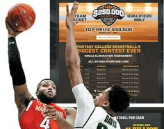 http://heysport.biz/index.html Fantasy sports companies charge into NCAA tournament with big cash prize contests, despite the college association's requests to knock it off.