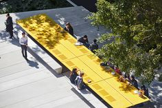 The Goods Line by ASPECT Studios « Inhabitat – Green Design, Innovation, Architecture, Green Building Landscape Plans, Urban Landscape, Landscape Architecture, Landscape Design, Architecture Diagrams, Architecture Portfolio, Urban Furniture, Street Furniture, Parks In Sydney