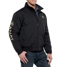 e9993885 Ariat Men's Team Jacket Team Jackets, Work Jackets, Mens Fashion, Guy  Fashion,