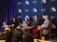 An arts panel at the National Iranian American Council's 2015 Leadership Conference.