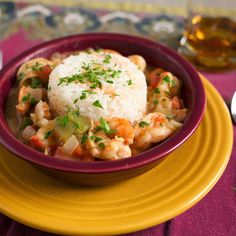 Pressure Cooker Shrimp Etouffee recipe - shrimp and étouffée sauce, cajun style, from the pressure cooker.