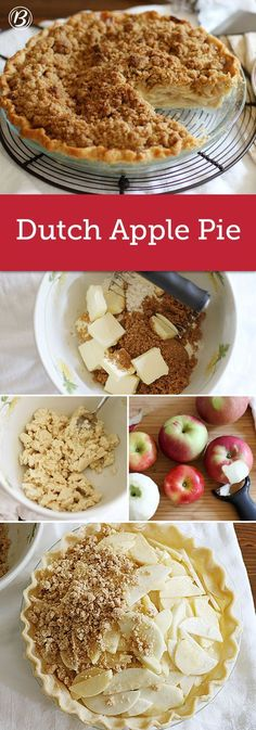 Betty Crocker Tradiional Dutch Apple Pie, recipe