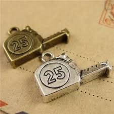 Tape Measure, Ruler, Charm Jewelry, Jewelry Accessories, Cufflinks, Bronze, Diy Crafts, Charmed, Personalized Items