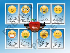 For ABC's with no words print pages 3-15  For ABC's with words print pages 16-28 See Preview for examples..  Words Included:  A- Angry B- Blushing C- Crying  D- Disappointed E- Ecstatic  F- Fearful G- Grimace H- Hugging I- Innocent J- Joyful K- Kissing L- Lauging M- Miserable N- Nerd O- Optimistic P- Paranoid Q- Quiet R- Relieved S- Sunglasses T- Temperature U- Upset V- Valued W- Weary X- Xenophobia Y- Yelling Z- Zipper  Please Comment and Rate  Thank you