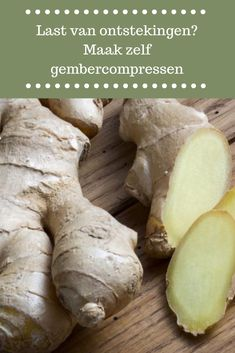 Do you suffer from inflammation? Make ginger compresses yourself Holistic Wellness, Health And Wellness, Health Care, Herbal Remedies, Home Remedies, Natural Remedies, Natural Kitchen, Medical Prescription, Natural Healing
