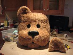 How to Make a School Mascot & how to make foam mascot heads. Maybe for a FNAF cosplay? | Cosplay ...