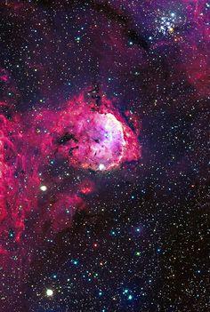 The Gabriela Mistral Nebula, an emission nebula in Carina