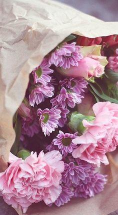 paper bouquet....