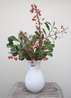 ReNika.cz: autumn flower decoration 80s Party, Fall Flowers, Flower Decorations, Burgundy, Vase, Autumn, Garden, Home Decor, Garten