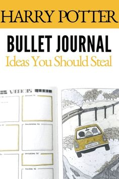 RAISE YOUR HAND IF YOU ARE OBSESSED WITH BOTH HARRY POTTER AND BULLET JOURNALS?! COMBINE THE TWO TOGETHER AND IT'S STRAIGHT UP MAGIC! Click to read more.
