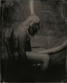 "By: James Wigger Title: ""The Thoughts of Man"" Country: United States Date: Wet Plate Collodion, Alternative Photography, International Artist, United States, Statue, Thoughts, Country, Image, Collection"