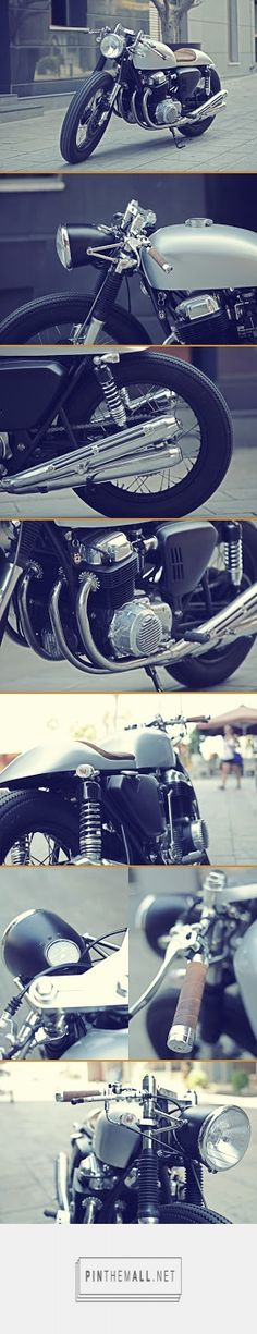 ElGato Honda CB750 Cafe Racer ~ Return of the Cafe Racers - created via https://pinthemall.net