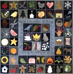Its a Wonderful World, pattern by: All Through the Night, Bonnie Sullivan