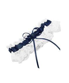 Weddingstar Bridal Toss Garter, Navy Blue Weddingstar Inc. http://www.amazon.com/dp/B000WD0PR8/ref=cm_sw_r_pi_dp_DyDLwb1VBMR3J