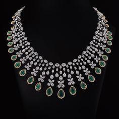Wedding Jewelry Sets, Bridal Jewelry, Gold Jewelry, Diamond Necklace Set, Diamond Jewellery, Diamond Pendant, Indian Jewelry Sets, Fashion Jewelry, Dimonds