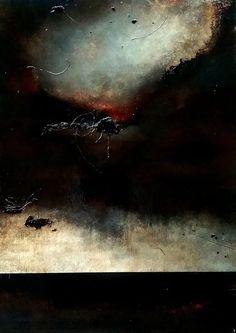 Job Klijn. Abstract art. Moody and emotive 'Quiet, Please..' love this!
