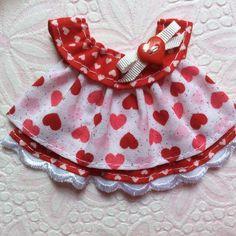 ELITE4U Laura Hearts LOVE Boutique DRESS 4 Tear BEAR Premade Scrapbook 3paperwis