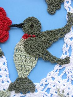 Crochet Hummingbird Pattern | And then there is Ebay.