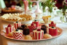 High Tea - a definite must for the ladies!