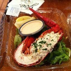 Crabbed Stuffed Lobster Tail @ Joe's Stone Crab (d2)
