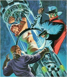 Pulp Cover -The Shadow