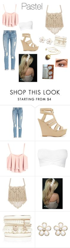 """Pastel"" by bentleysbaby ❤ liked on Polyvore featuring Frame Denim, 2b bebe, Forever New and Wet Seal"