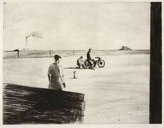 Kamil Lhoták: Na závodní dráze_1953 Painting, Art, Art Background, Painting Art, Kunst, Paintings, Performing Arts, Painted Canvas, Drawings