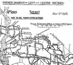 ww1 map of trenches - Google Search